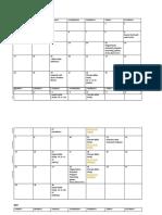 RS Schedule Mar-June