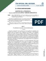 Procedimiento de actuación contra la desinformación aprobado por el Consejo de Seguridad Nacional
