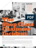 The Shop Class Chainsaw Incident