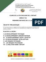 1- Psychologie de l'enfant