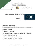 2-Organisation des activites quotidienne VU