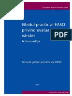 Office EAS. Ghidul practic al EASO privind evaluarea vârstei.