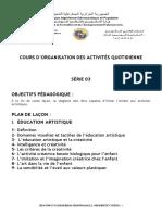 2-Organisation des activites quotidienne