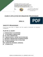 3-Application des démarches pédagogiques