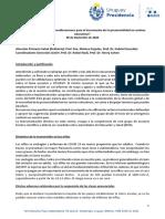 Informe Presencialidad GACH Nov 2020