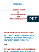 1. Q-system basics for rock and mining engineering 1