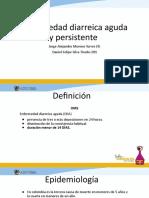 Enfermedad diarreica aguda y persistente