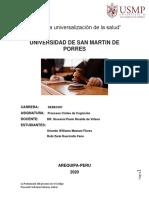 MONOGRAFIA POSTULACION DE  PROCESOS