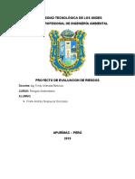 Evaluación de Riesgos Ambientales en Actividades Manufactureras en Ladrillos Artesanales Nn
