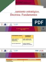 1. El pensamiento estrategico. Doctrina. Fundamentos (1).pptx