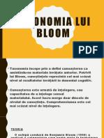 Taxonomia Lui Bloom