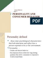 5Personality and Consumer Behavior