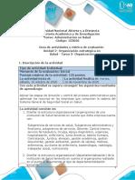 Guía de actividades y rúbrica de evaluación - Unidad 2 - Tarea 3 - Organización (1).pdf
