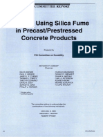 Guide to Using Silica Fume in Precast Prestressed Concrete Products