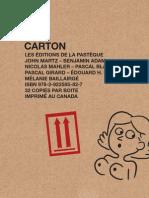 Extraits de Carton