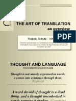 A Arte de Traduzir.pps
