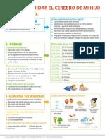 Infografia Cuidar el Cerebro