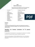 CASO Definicion de Funciones