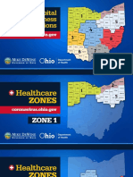 Hospital regions and zones