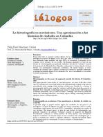 La historiografIa en movimiento una aproximacion a.pdf
