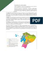 Niveles administrativos de planificación ecuador planifica