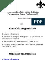 1. Língua e Linguagem