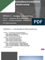 M1T3A3 - A Criação da Realidade – Sistemas de Percepção-2 - ESPM