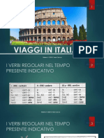 Viaggi in italia 1.  ITALIANO II.es