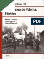 La invasion de Polonia 'Blitzkrieg'