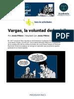 Vargas, la voluntad de lo civil - Guía para estudiantes- Aula Prodavinci