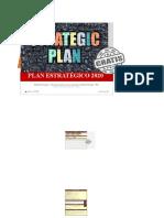 Plantilla 1. Plan estratégico colavorativo
