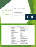 Taller - Clasificación de Documentos