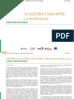 Historia da Cultura e das Artes - Artes Visuais e Audiovisuais