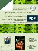 Slide - Seminário 09 (Estado e Questão Amazônica)