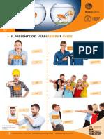 Scheda 3. Il presente dei verbi essere e avere. Il presente dei verbi regolari in are, ere, ire.pdf