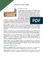 Renacimiento y literatura española - compartir