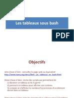 Linux_-_chap5_Tableaux en bash