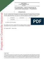 Projeto ABNT NBR16601