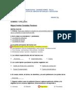 ACUMULATIVA DE 7 PRIMER PERIODO CIENCIAS NATURALES