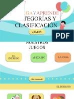 CATEGORÍAS Y CLASIFICACIÓN