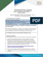 Guia de Actividades y Rúbrica de Evaluación Fase 3 - Identificación de Conceptos de La TGS
