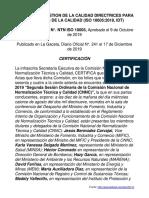 NTN ISO 10005