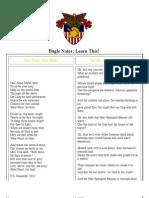 Bugle Notes