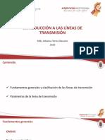 CLASE 02 - INTRODUCCIÓN A LAS LINEAS DE TX