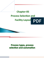 OM-5 Process Selection and Facility Layout