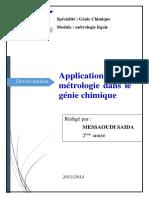 DM MetLeg - Application de la métrologie dans le Génie chimique.pdf