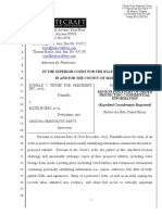 Trump AZ lawsuit - Motion for Entry of Order Protection