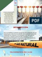 TRANSFERENCIA DE CALOR EN EL PROCESO DE GAS