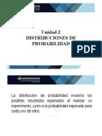 Presentación Unidad N°2   Distribuciones de Probabilidad