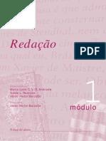 Apostila - Concurso Vestibular - Redação - Módulo 01